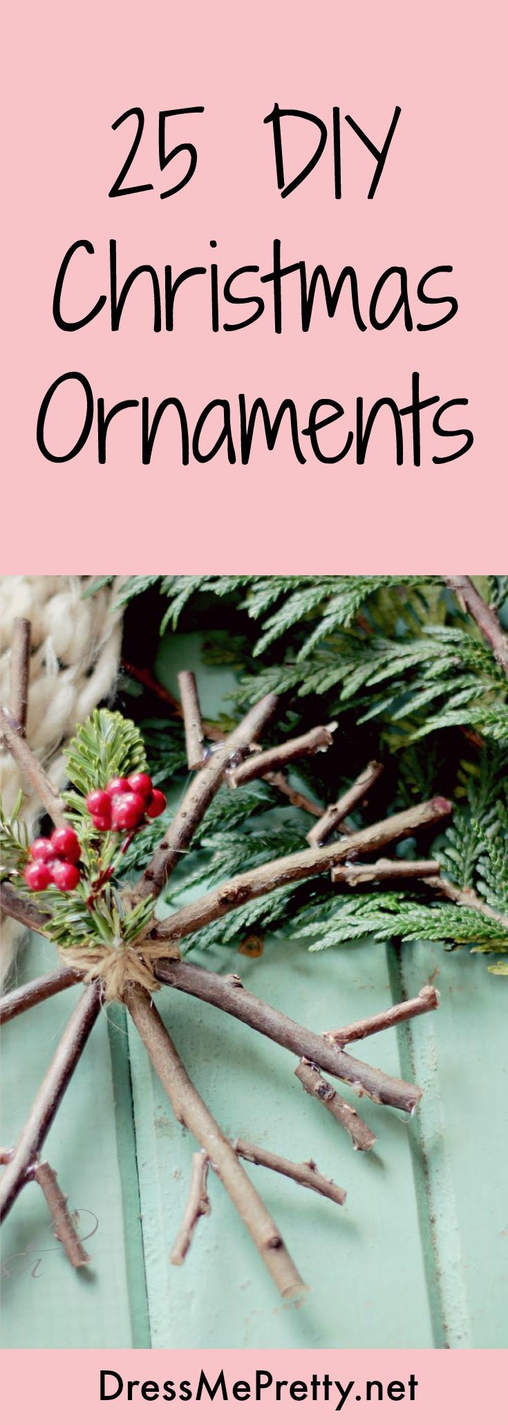 Ornaments DIY Christmas