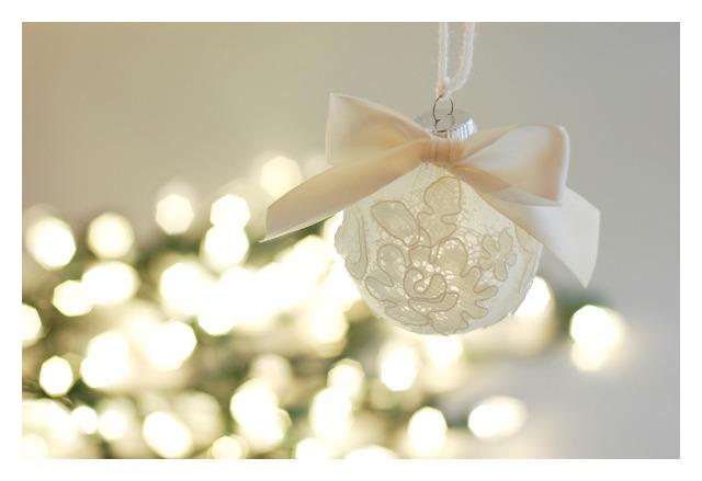 Elegant Christmas Ornaments
