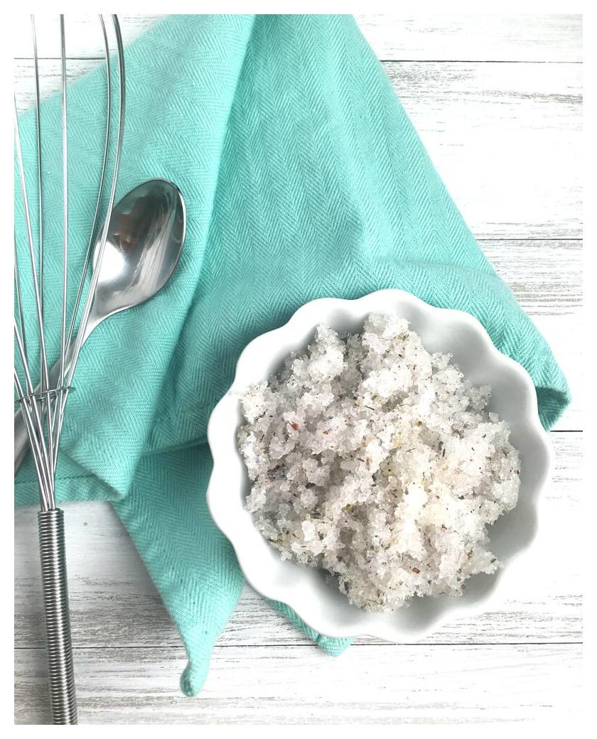 Epsom Salt Scrub