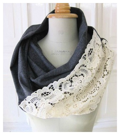 Fabric Infinity Scarf