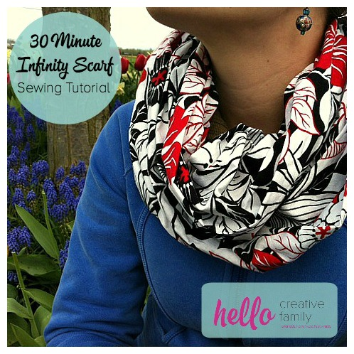 Sewn Infinity Scarf
