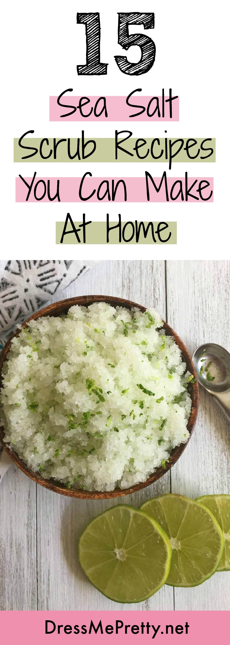 Sea Salt Scrub Recipes