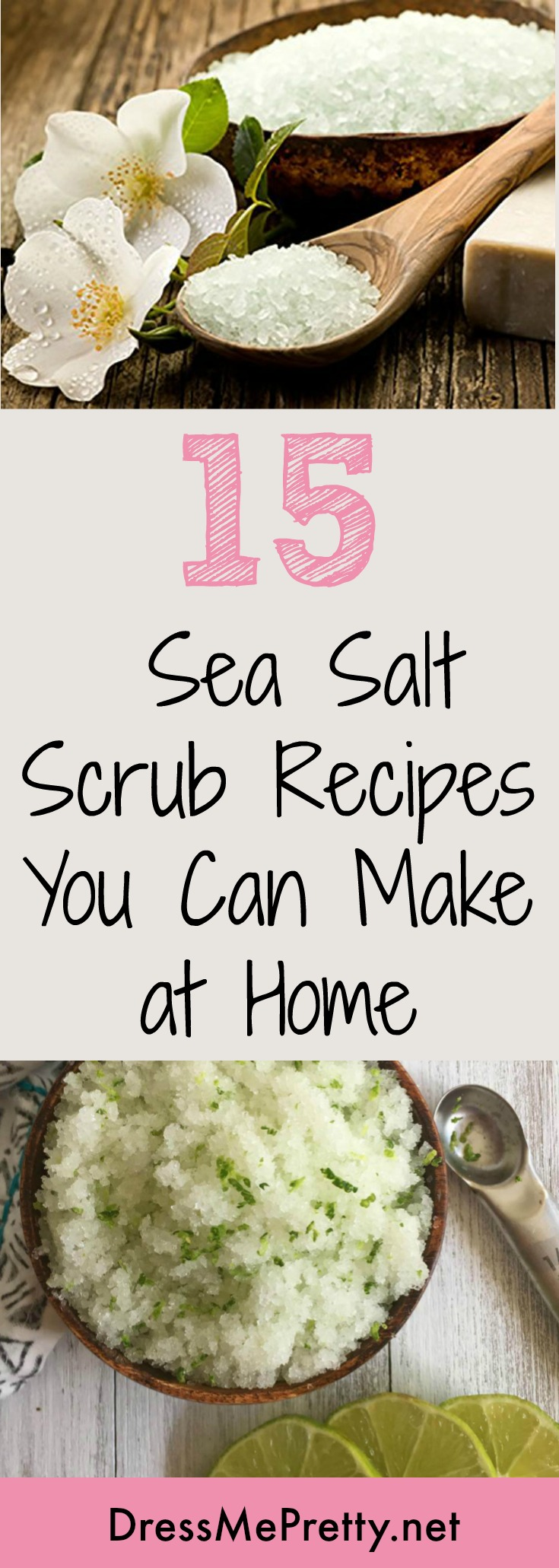 Easy Sea Salt Scrubs