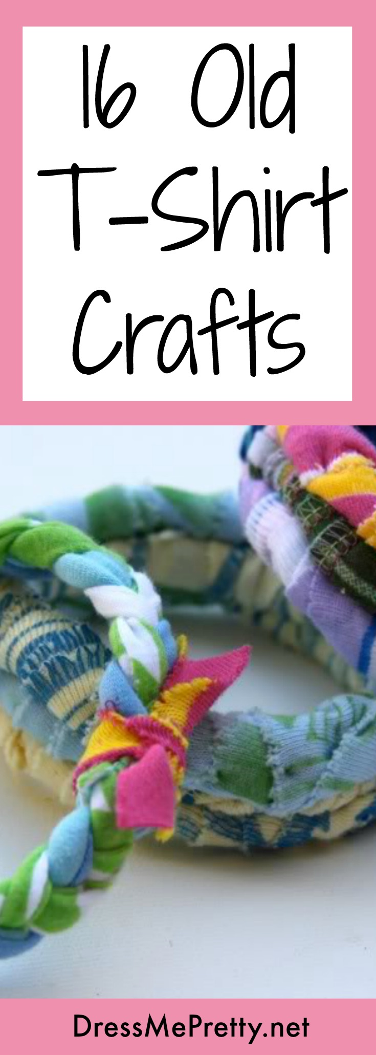 Old T-Shirt Craft Ideas