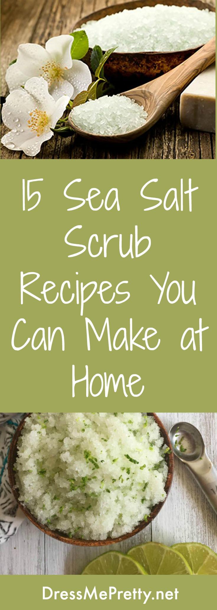 How to Make Sea Salt Scrubs