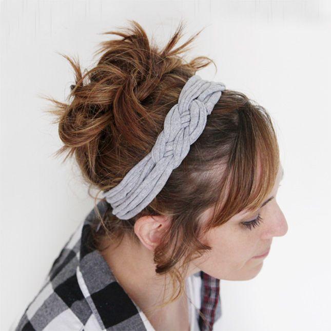 T-Shirt Headband DIY