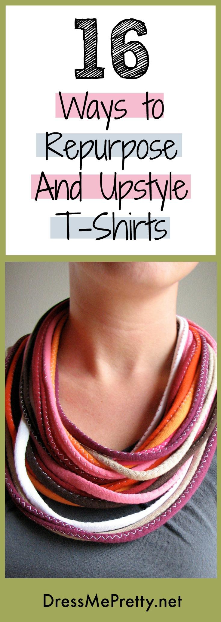 DIY T-Shirt Upcycle